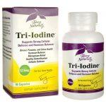 EuroPharma Terry Naturally Tri-Iodine 12.5 mg 90 Caps Energy