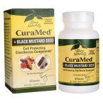 EuroPharma Terry Naturally Curamed + Black Mustard Seed 60 Vegan Caps Joint Health