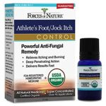 Forces of Nature Organic Athlete's Foot/Jock Itch Control 11 ml Liquid Rash and Itches