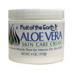 Fruit of the Earth Aloe Vera Skin Care Cream 4 oz Cream