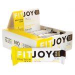 FitJoy Nutrition Fitjoy Bar – Grandma's Lemon Square 12 Bars Protein