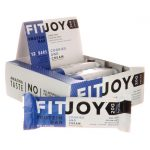 FitJoy Nutrition Fitjoy Bar – Cookies and Cream 12 Bars Protein