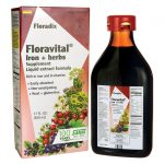 Floradix Floravital Iron + Herbs (Yeast Free) 17 fl oz Liquid Health Minerals