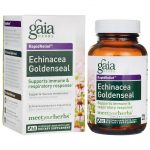 Gaia Herbs Echinacea Goldenseal 60 Liquid Vegcap Immune Support