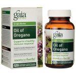 Gaia Herbs Oil of Oregano 60 Liquid Vegcap Immune Support