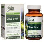 Gaia Herbs Olive Leaf 60 L-Vcaps Immune Support