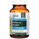 Gaia Herbs Adrenal Health Daily Support 120 Liquid Vegcap Stress and Mood