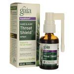 Gaia Herbs Sage & Aloe Throat Shield Spray 30 ml Liquid Respiratory Health