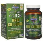 Garden of Life Vitamin Code Raw Calcium 120 Veg Caps Bone Health