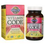 Garden of Life Vitamin Code Raw B-12 30 Vegan Caps B Vitamins
