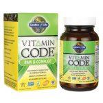 Garden of Life Vitamin Code Raw B-Complex 60 Vegan Caps B Vitamins