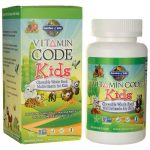Garden of Life Vitamin Code Kids 60 Chewables Multivitamins
