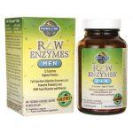 Garden of Life Raw Enzymes Men 90 Veg Caps Digestive Health and Fiber