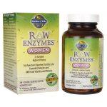 Garden of Life Raw Enzymes Women 90 Veg Caps Digestive Health and Fiber