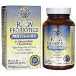Garden of Life Raw Probiotics Men 50 & Wiser 85 Billion CFU 90 Veg Caps