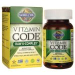 Garden of Life Vitamin Code Raw K-Complex 60 Vegan Caps Bone Health