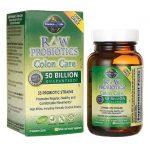 Garden of Life Raw Probiotics Colon Care 50 Billion CFU 30 Veg Caps