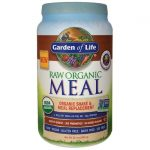 Garden of Life Raw Organic Meal Shake & Replacement – Vanilla Spiced Chai 32.1 oz Powder Weight Loss