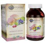 Garden of Life Mykind Organics Women's Multi 120 Vegan Tabs Multivitamins