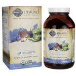 Garden of Life Mykind Organics Men's Multi 120 Vegan Tabs Multivitamins
