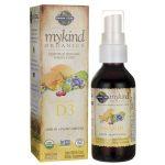 Garden of Life Mykind Organics Vegan D3 Spray – Vanilla 1,000 Iu 2 oz Liquid Bone Health