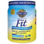 Garden of Life Raw Organic Fit High Protein for Weight Loss -Vanilla 16.1 oz Powder Weight Loss