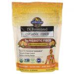 Garden of Life Dr. Formulated Organic Fiber – Delicious Citrus Flavor 7.9 oz Powder Digestive Health and Fiber