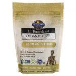 Garden of Life Dr. Formulated Organic Fiber – Unflavored 6.8 oz Powder Digestive Health and Fiber
