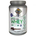 Garden of Life Sport Certified Grass Fed Whey Protein – Chocolate 23.7 oz Powder