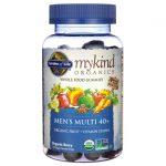Garden of Life Mykind Organics Men's 40+ Gummy Multi – Berry 120 Gummies Multivitamins