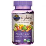 Garden of Life Mykind Organics Prenatal Gummy Multi – Berry 120 Gummies Women's Health