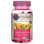 Garden of Life Mykind Organics Women's 40+ Gummy Multi – Berry 120 Gummies Multivitamins