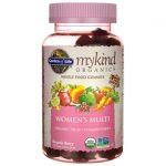 Garden of Life Mykind Organics Women's Gummy Multi – Berry 120 Gummies Multivitamins