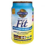 Garden of Life Raw Organic Fit High Protein for Weight Loss – Chocolate 32.5 oz Powder Weight Loss
