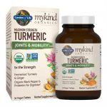 Garden of Life mykind Organics Maximum Strength Turmeric Joints & Mobility 30 Vegan Tabs Joint Health