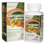 Genceutic Naturals Curcumin 250 mg 60 Soft Gels Liver Health