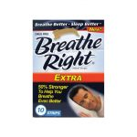 Breathe Right Nasal Strips Extra 10 ct Respiratory Health