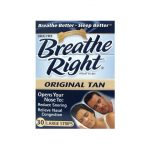 Breathe Right Nasal Strips Original Tan – Large 30 ct Respiratory Health