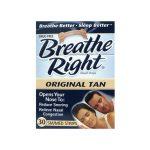 Breathe Right Nasal Strips Original Tan – Sm/Med 30 ct Respiratory Health