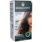 Herbatint Permanent Haircolor Gel 6N Dark Blonde 1 Box