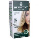 Herbatint Permanent Haircolor Gel 9N Honey Blonde 1 Box