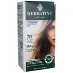 Herbatint Permanent Haircolor Gel 7D Golden Blonde 1 Box
