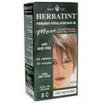 Herbatint Permanent Herbal Haircolor Gel 8C Light Ash Blonde 1 Box
