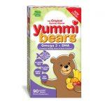 Hero Nutritionals Yummi Bears Omega 3 + Dha 90 Gummies Children's Health