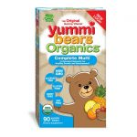 Hero Nutritionals Yummi Bears Organics Complete Multi 90 Gummies Children's Multivitamins