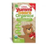 Hero Nutritionals Yummi Bears Organics Immunity Health – Red Apple 90 Gummies Immune Support Children's Health