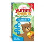Hero Nutritionals Yummi Bears Vegetarian Complete Multi 90 Gummies Children's Multivitamins