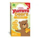 Hero Nutritionals Yummi Bears Vitamin D3 – Orange 600 Iu 60 Gummies Bone Health