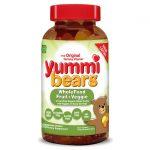 Hero Nutritionals Yummi Bears Wholefood Fruit + Veggie 200 Gummies Children's Multivitamins