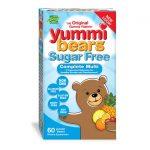 Hero Nutritionals Yummi Bears Sugar Free Complete Multi 60 Gummies Children's Multivitamins